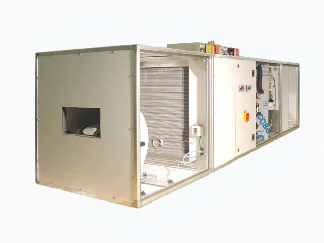 Swimming pool dehumidifiers type EZG